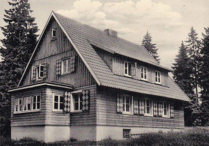 Gruppenhaus Oderbrück 1952